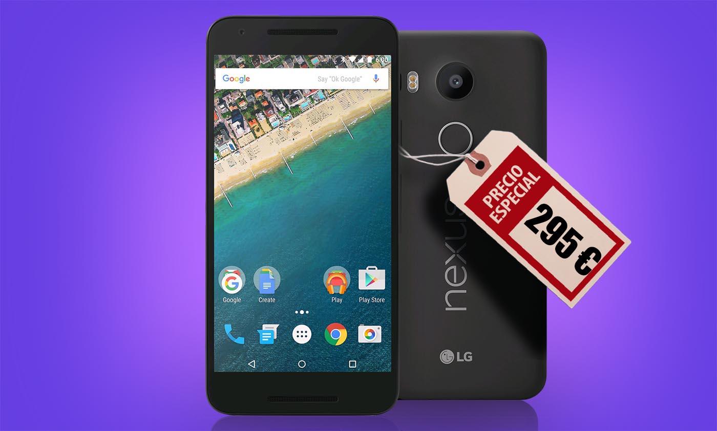 """El Nexus 5X de LG por fin """"a precio de Nexus"""""""