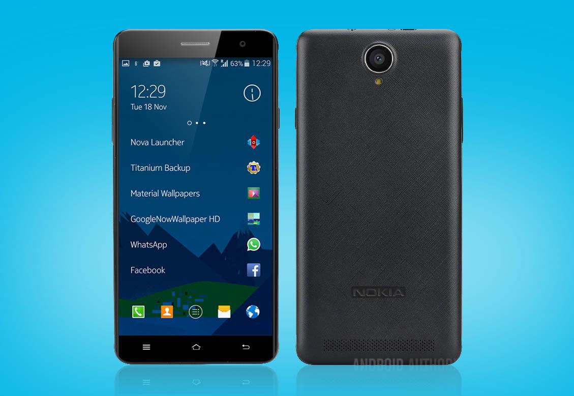 Nokia A1 apertura