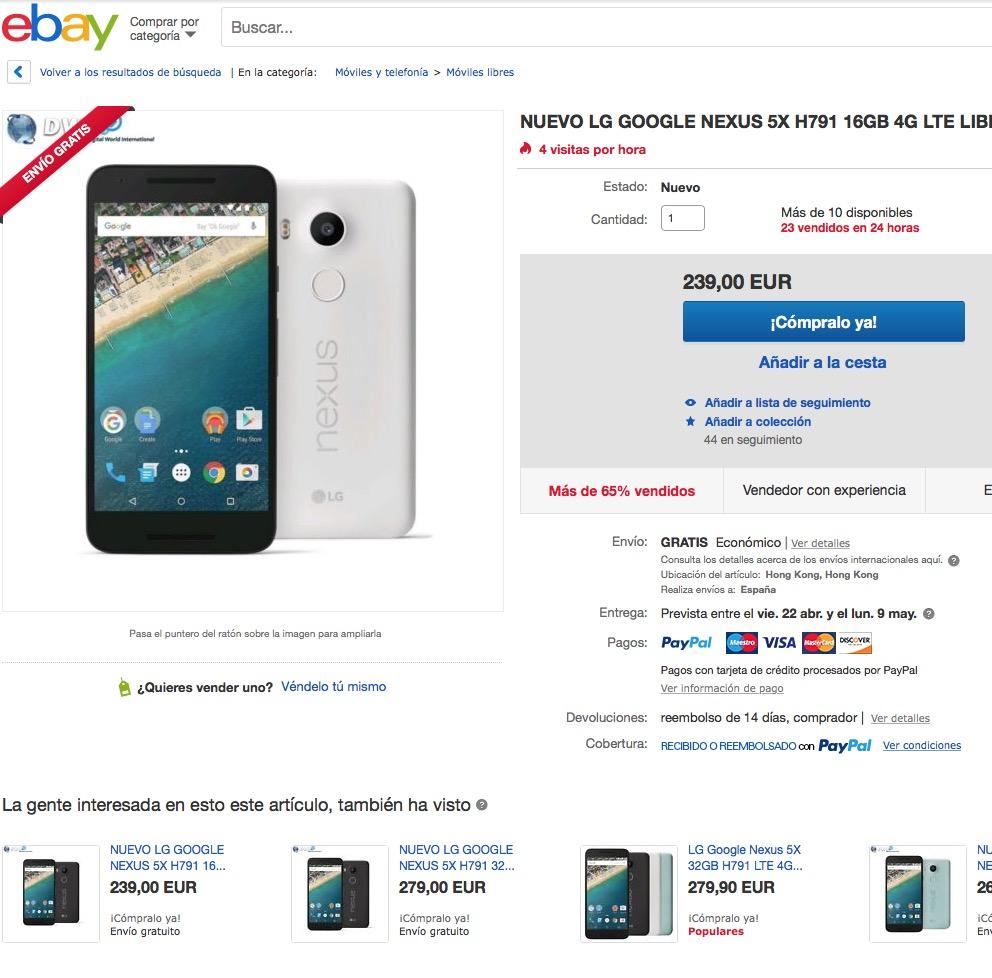 Ofertas Nexus 5X-02