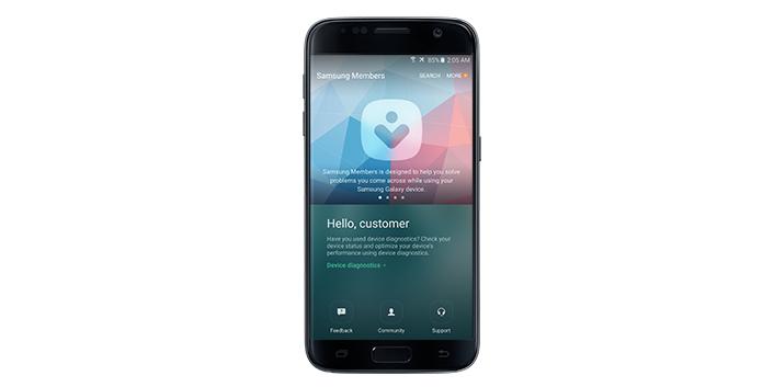 """Samsung integrará """"Members"""" una avanzada app de soporte en sus smarphones"""