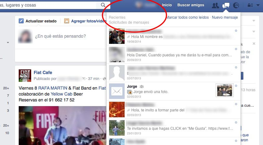 Solicitudes de mensajes facebook Messenger-02