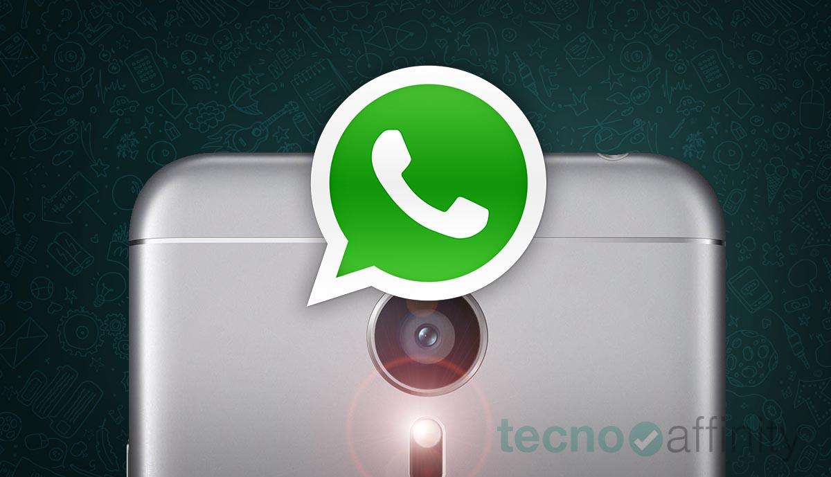 WhatsApp camara