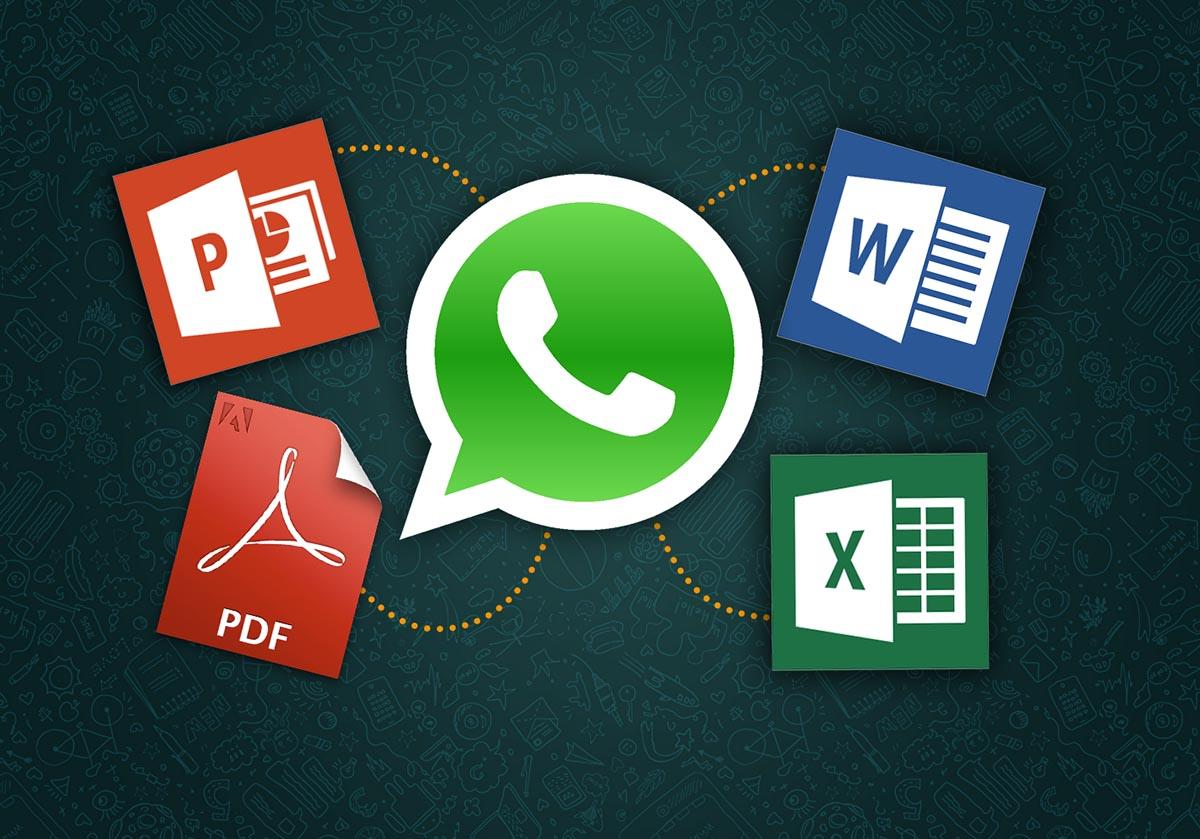 Con WhatsApp ya puedes enviar cualquier tipo de archivo