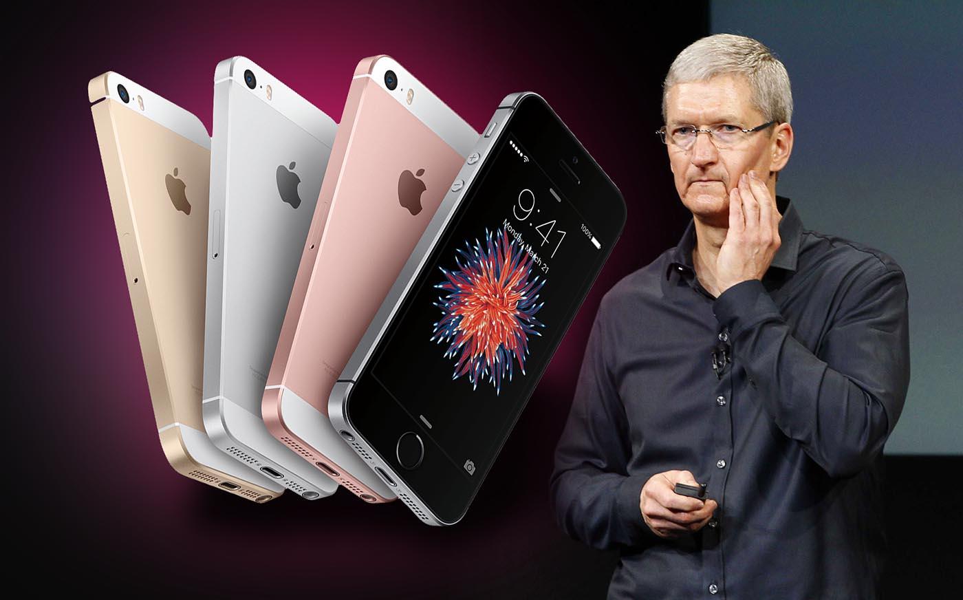 El iPhone SE no consigue despegar en su primer fin de semana
