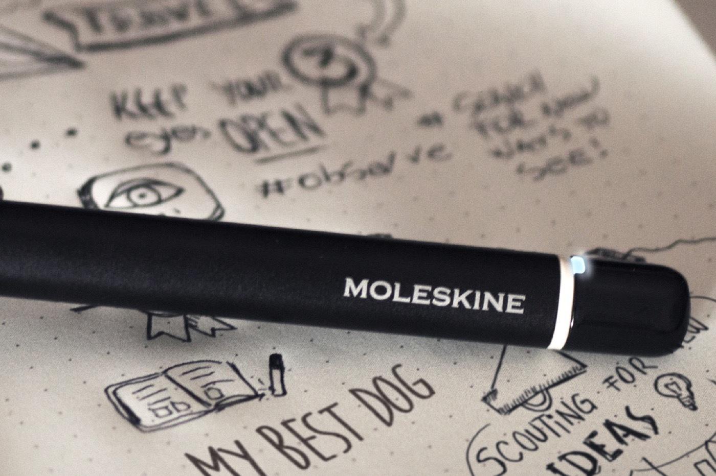 Moleskine presenta la libreta de notas inteligente