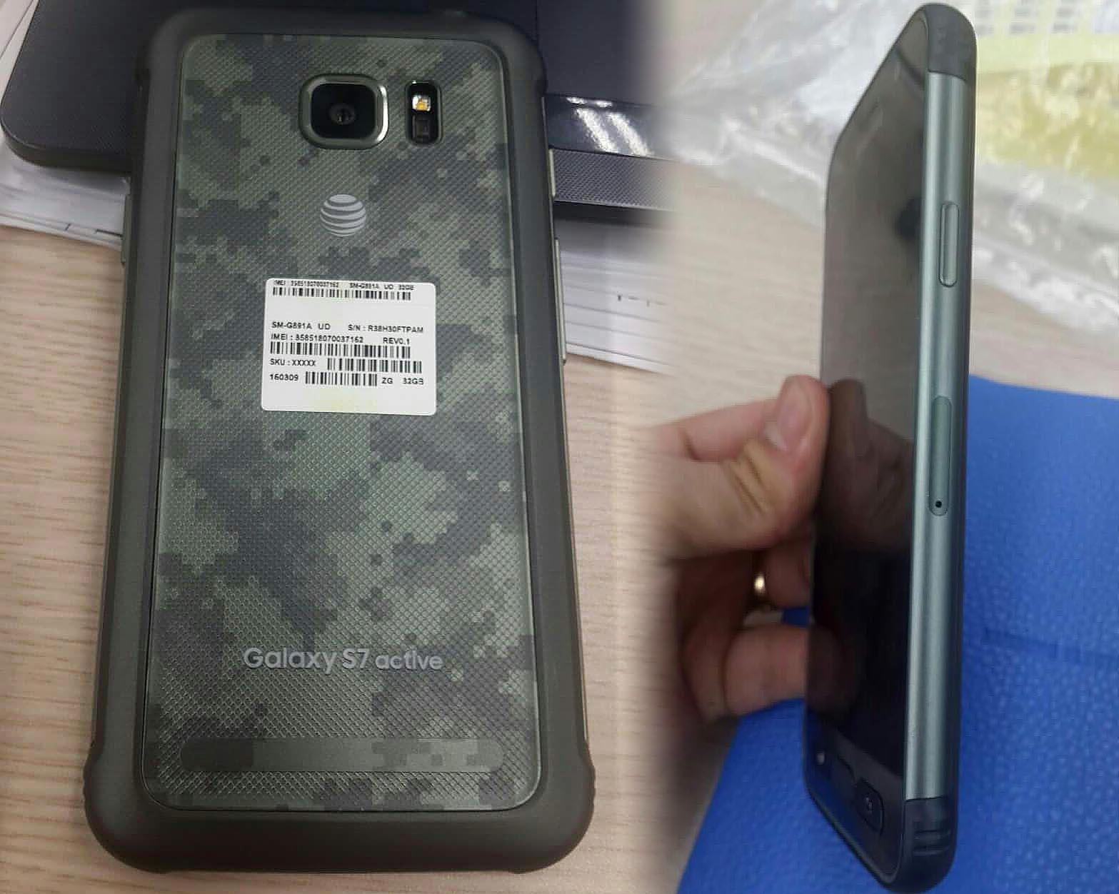Galaxy S7 Active Apertura
