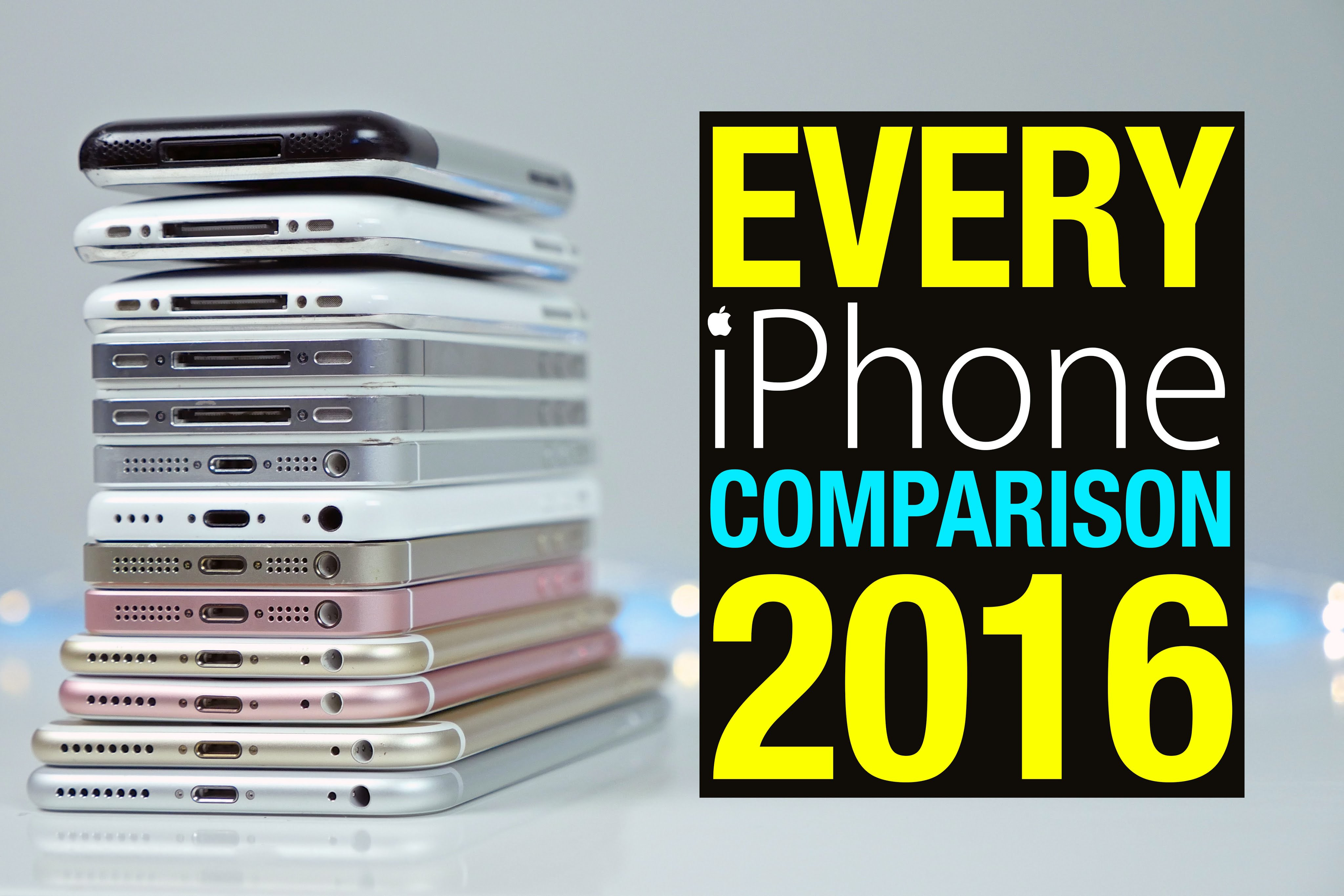 Comparativa iPhones