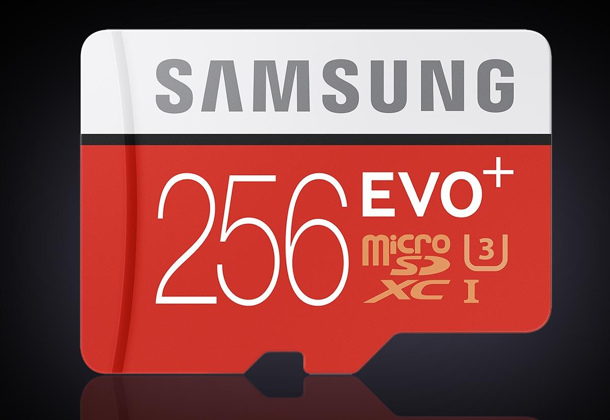 Micro SD Samsung 256 EVO+ 2