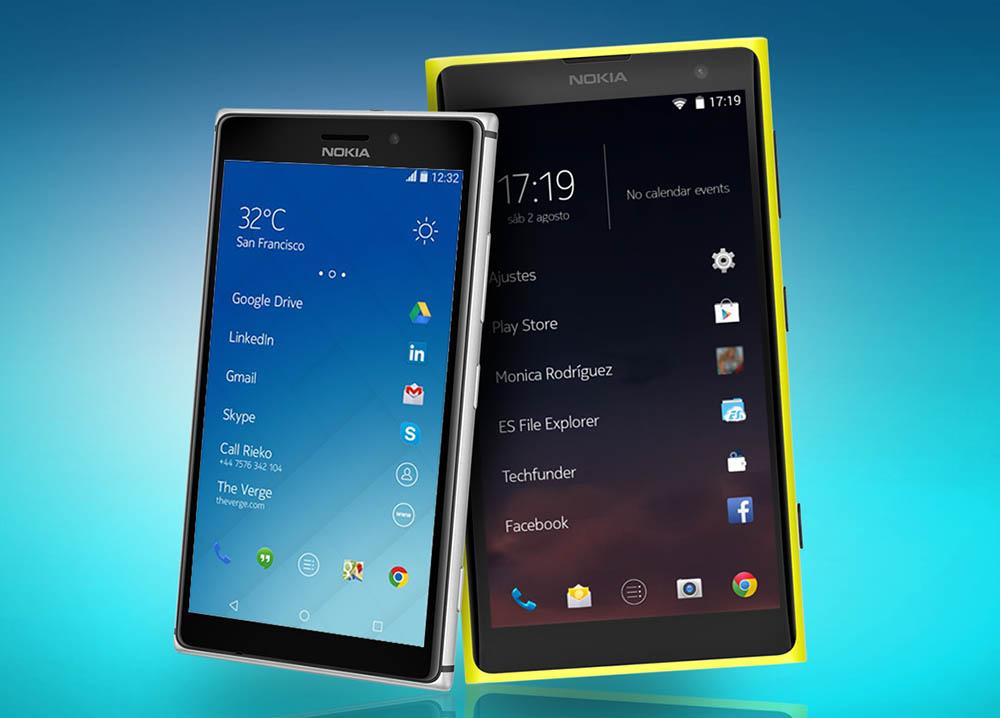 Nuevos Nokia Android