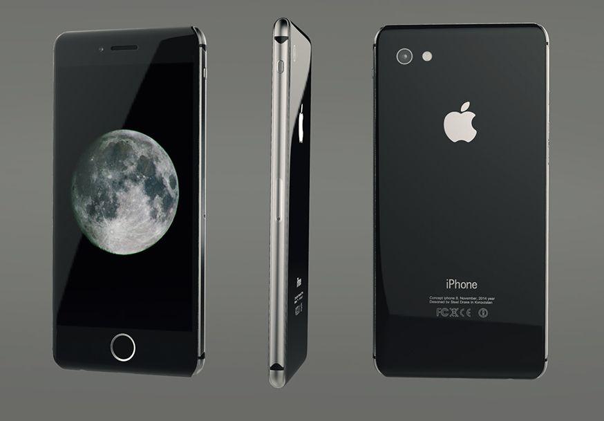 Apple sólo usará carcasa trasera de cristal en su iPhone más lujoso de 2017