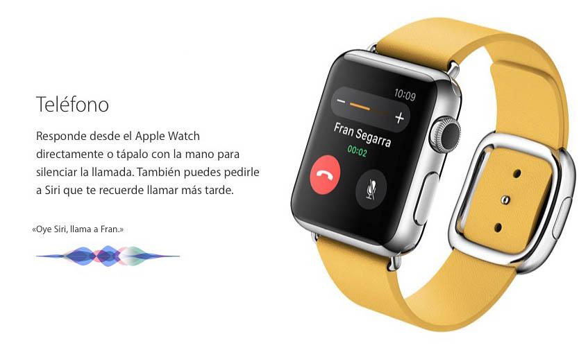 Apple Watch llamada