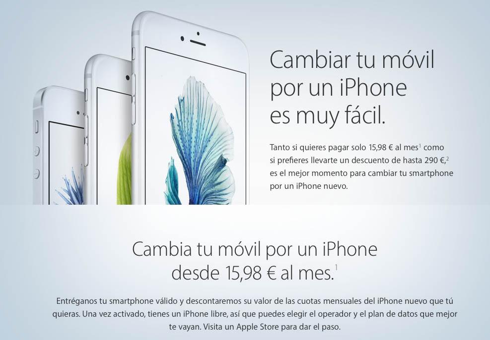 Plan renove iPhone