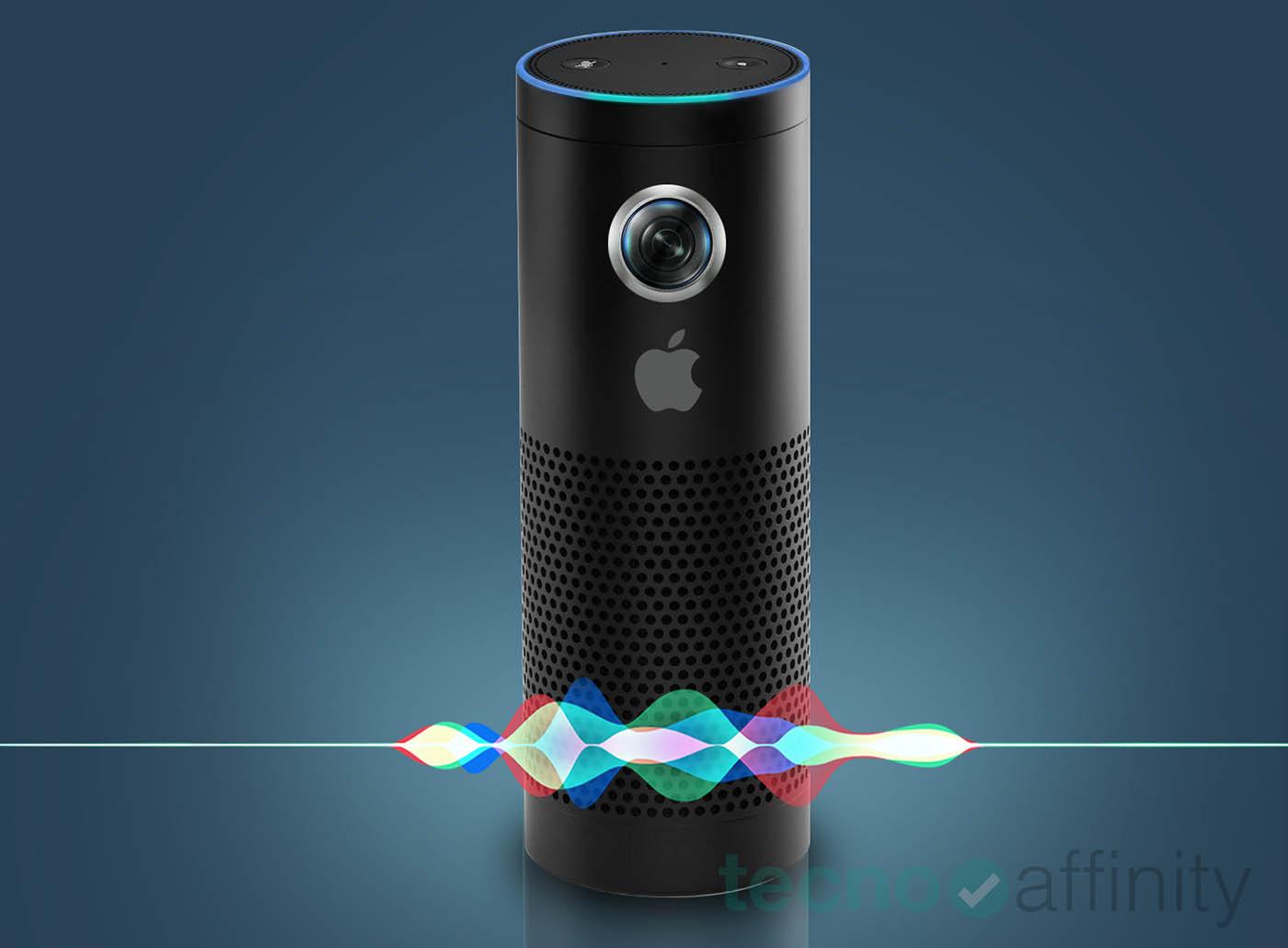 Así puede ser el altavoz inteligente de Apple