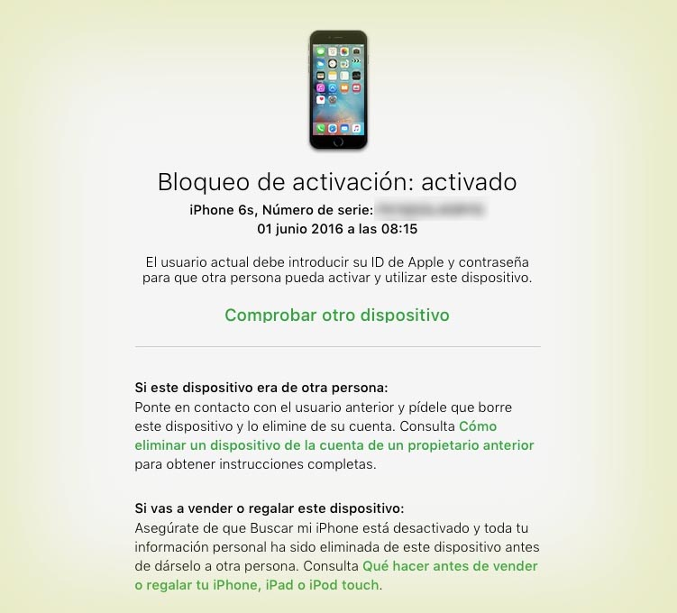COMPROBAR IPHONE ANTES DE COMPRAR