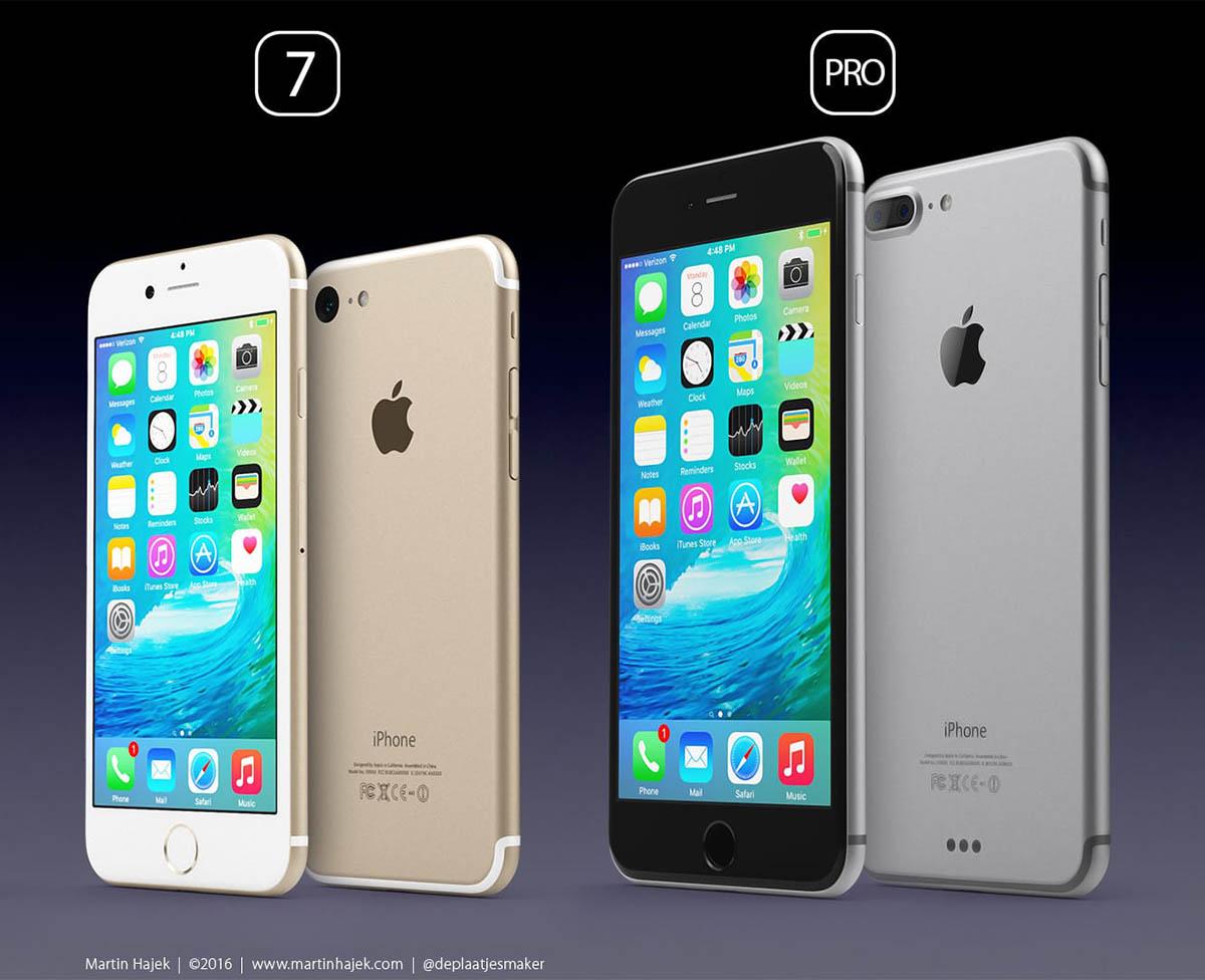 Nuevos datos muestran todas las especificaciones del iPhone 7