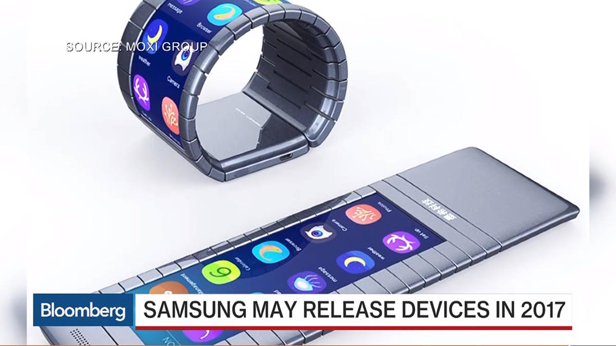 Samsung smartphones flexibles