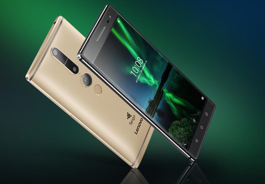Lenovo Tango Phab 2 Pro Dorado