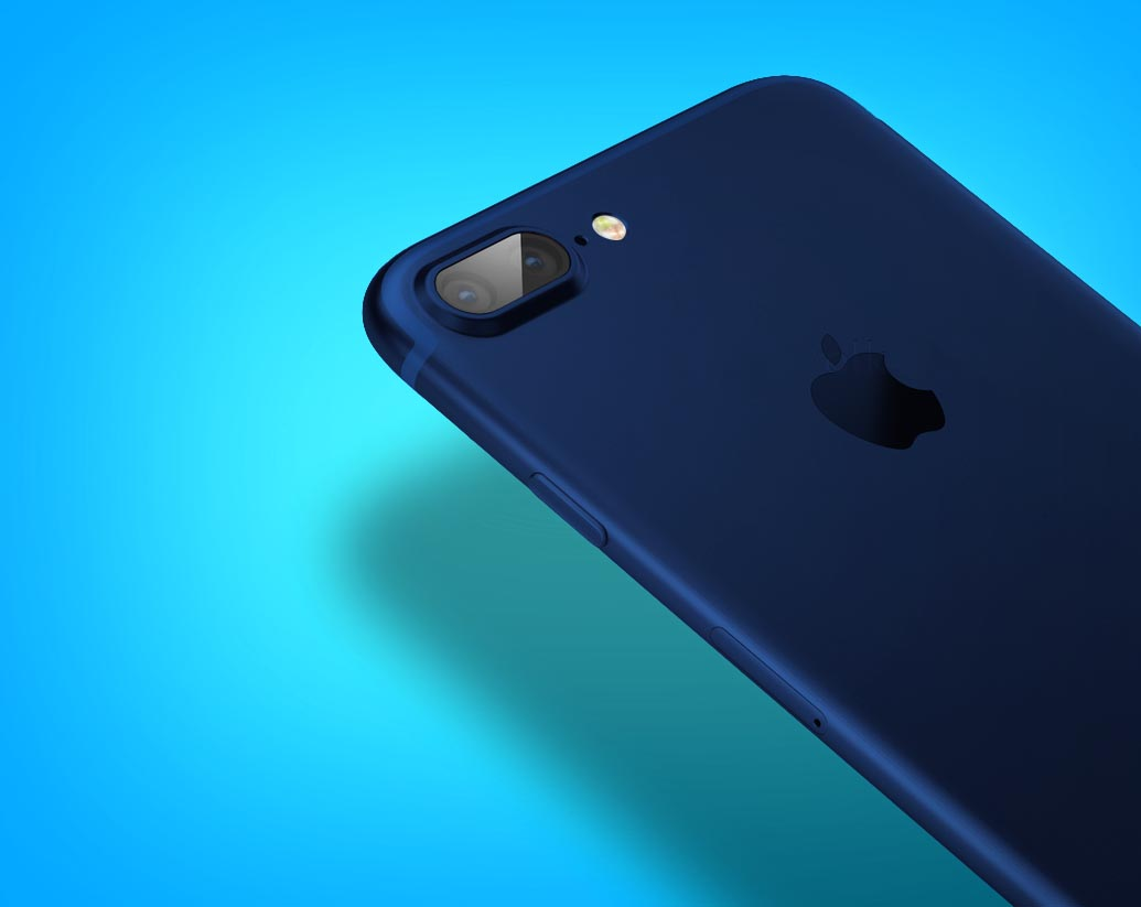 iPhone 7 azul