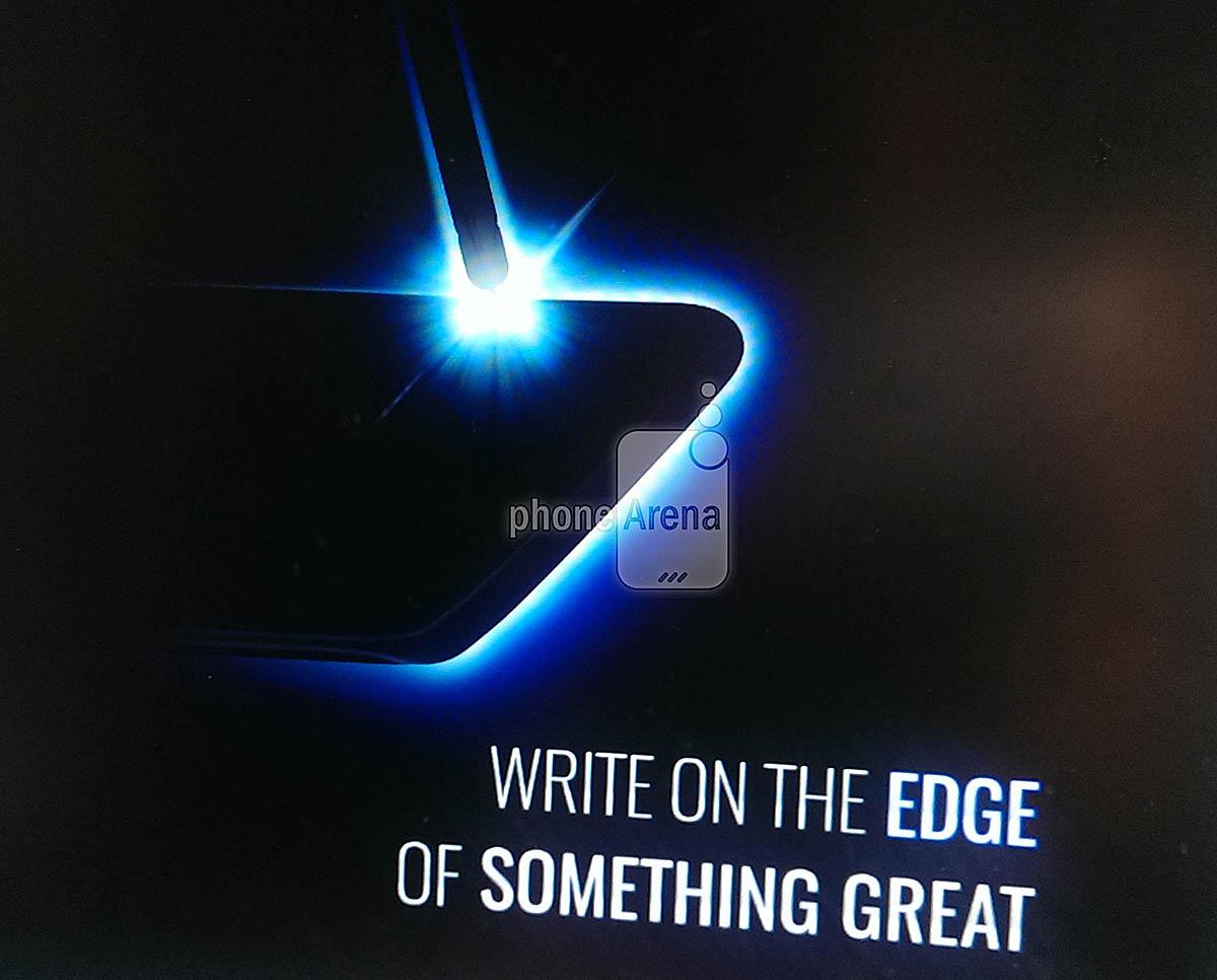 Teaser Galaxy Note 7