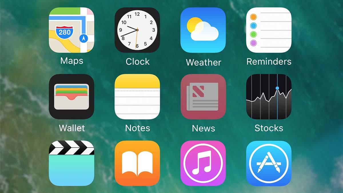 iOS 10 apps escritorio