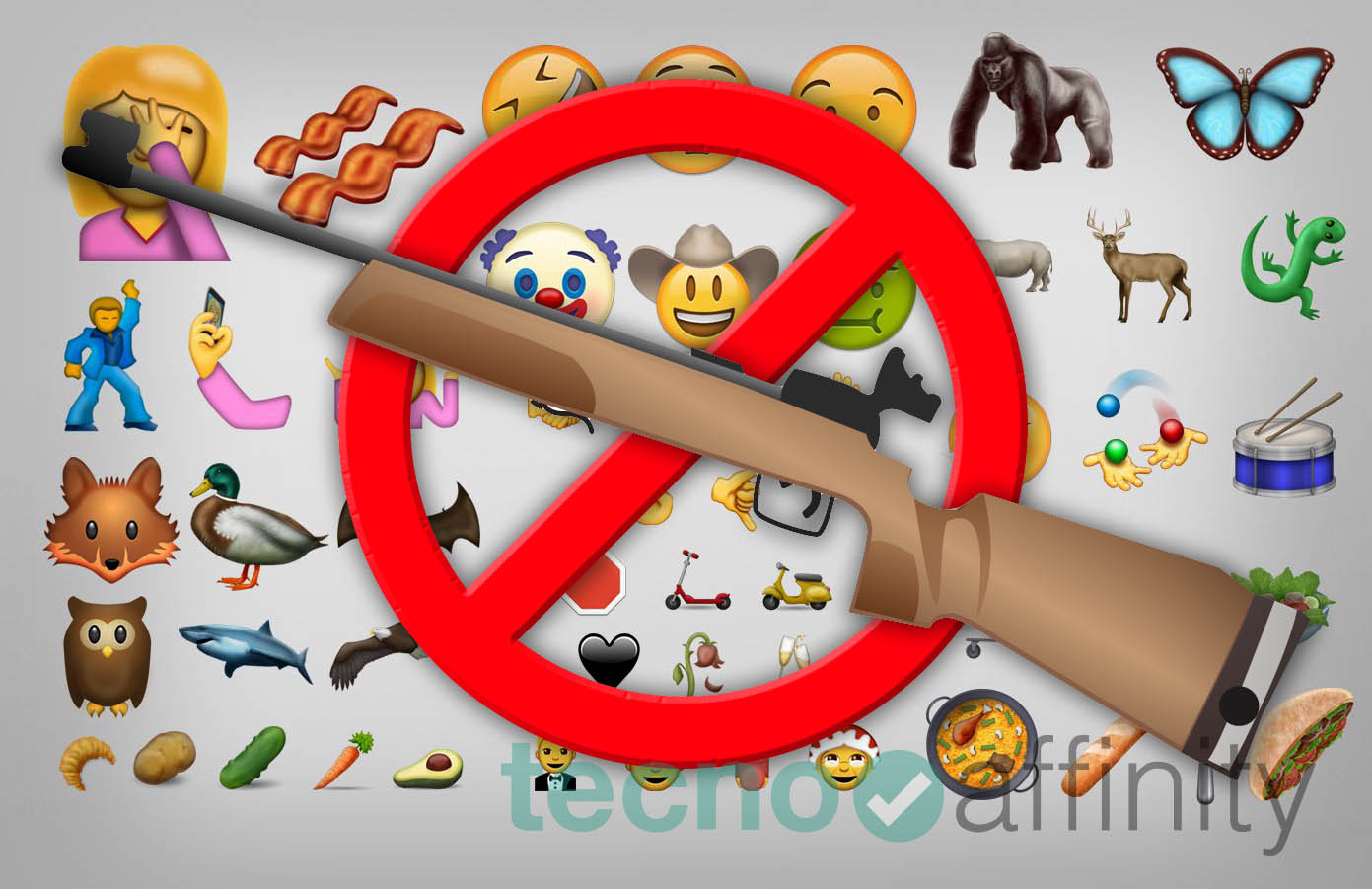 Apple obliga a que se retire el emoji del rifle