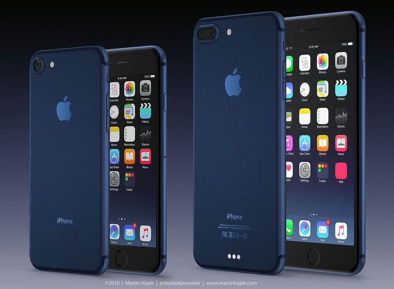 iPhone 7 'azul profundo'