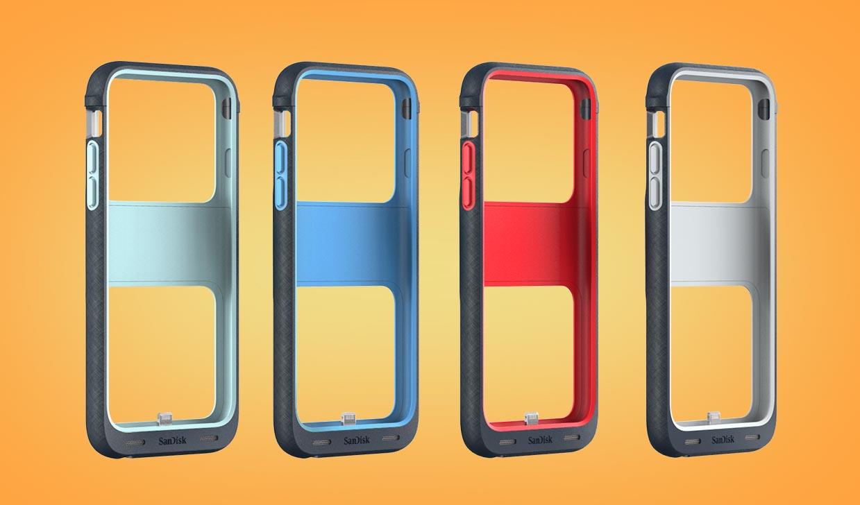 SanDisk iXpand Memory Case, la carcasa que añade almacenamiento a tu iPhone