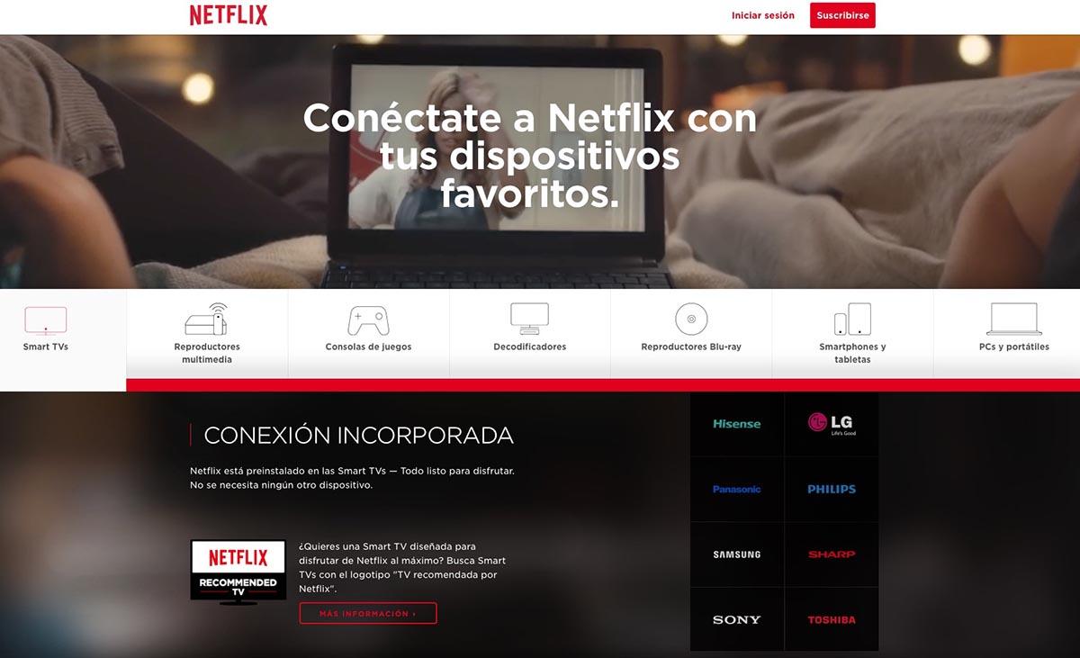 Interfaz Netflix 2