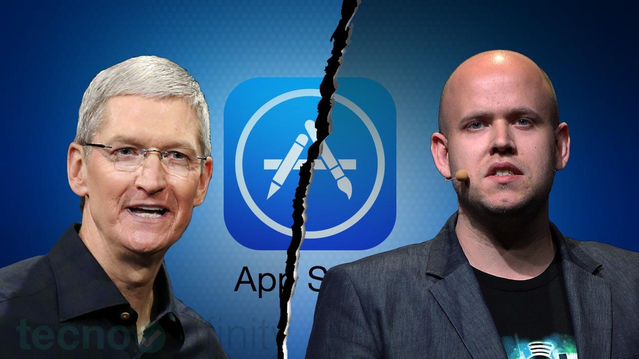 Apple vs Spotify App Store