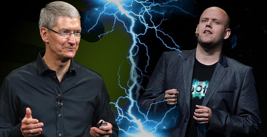 Spotify no consigue renovar contratos con las discográficas ¿culpa de Apple?