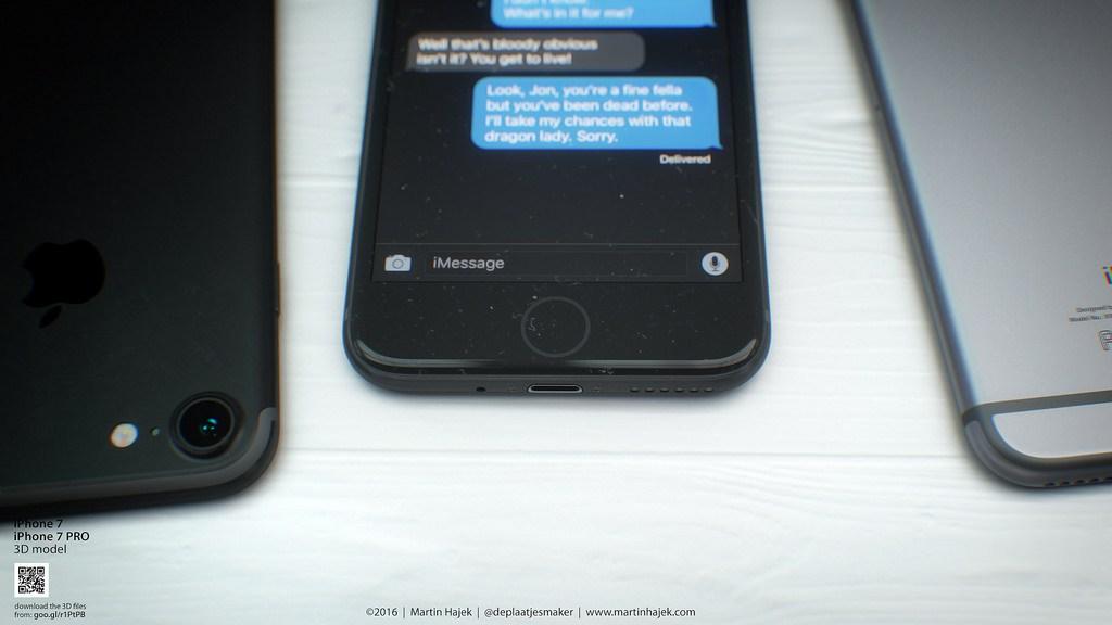 """Así serán los iPhone 7 en color """"deep blue"""" y """"negro espacial"""""""