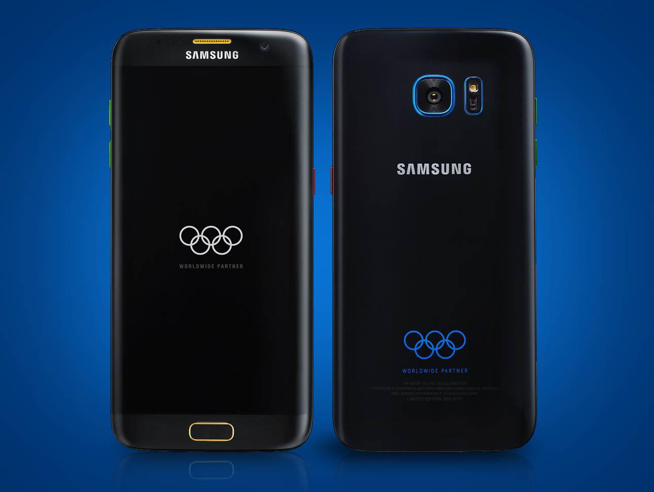 Samsung Galaxy S7 Olimpiadas