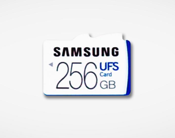 Tarjetas MicroSD Samsung UFS-02