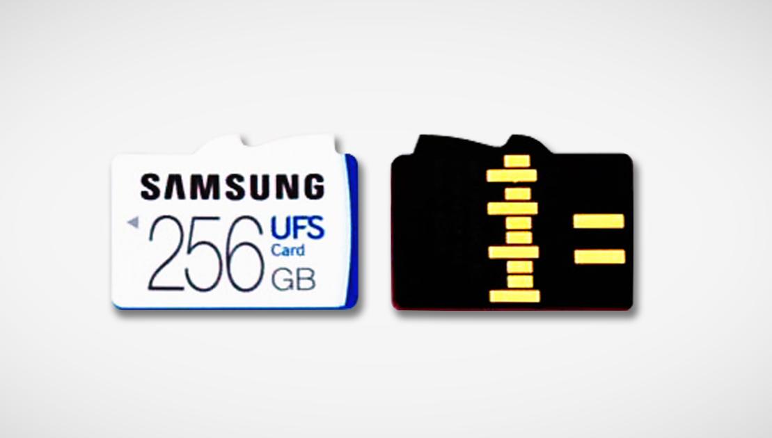 Tarjetas MicroSD Samsung UFS-03