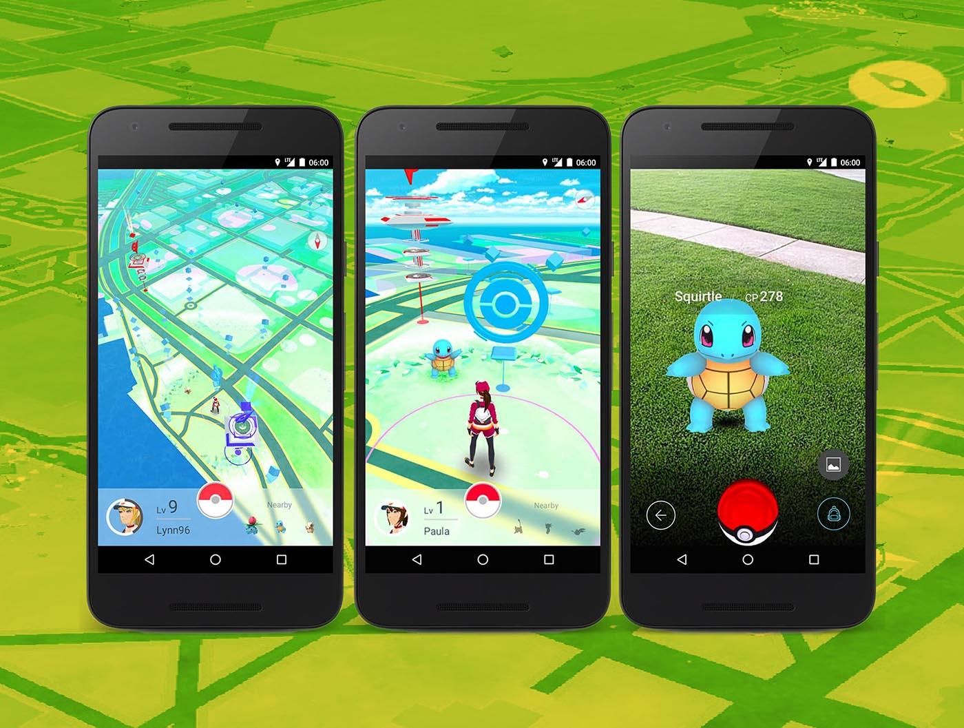 Pokemon GO Mapa