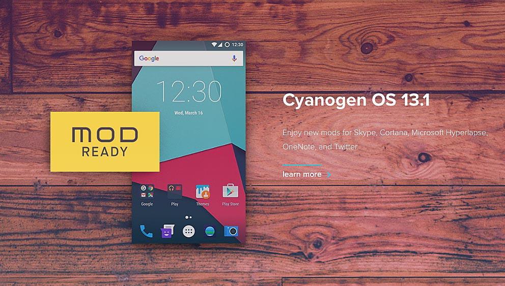 Cyanogen OS 13