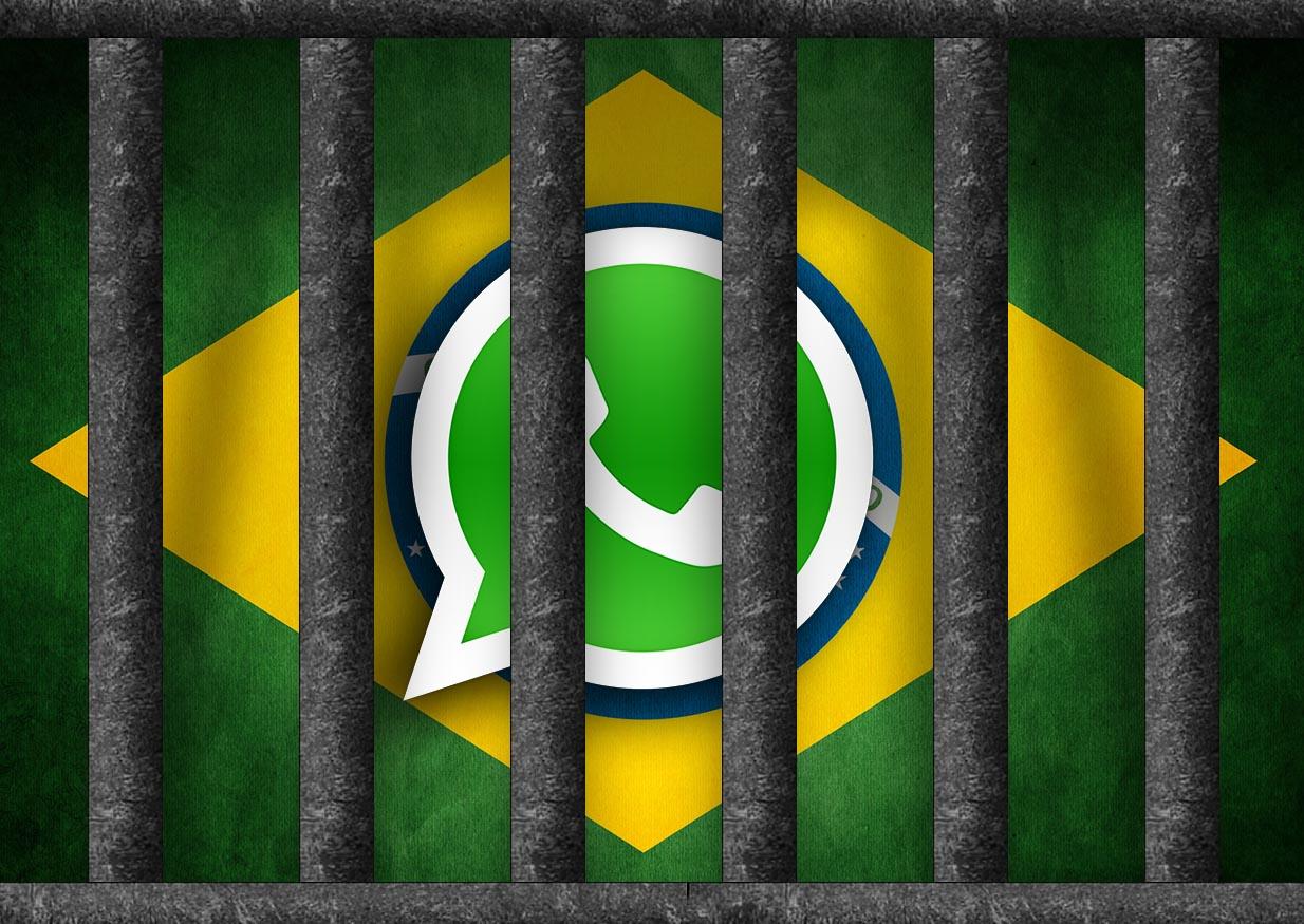 Brasil vuelve a bloquear WhatsApp