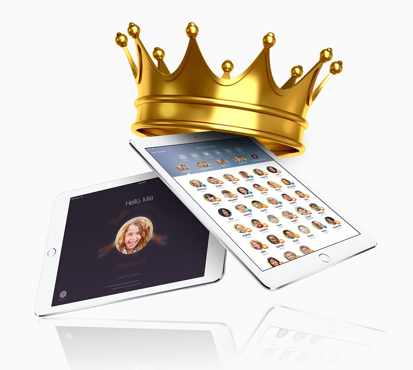 iPad rey tabletas