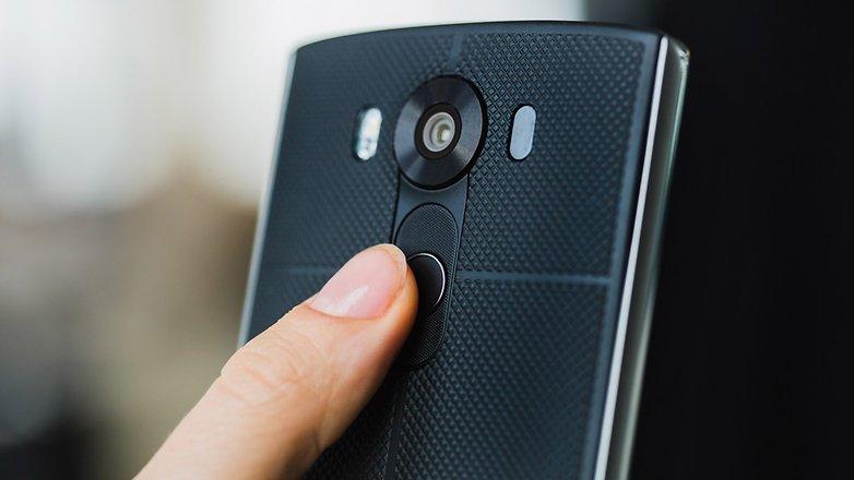 LG V10 lector huella