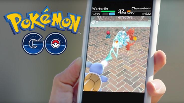El juego Pokémon GO