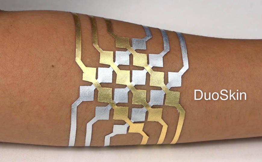 Tatuaje MIT DuoSkin