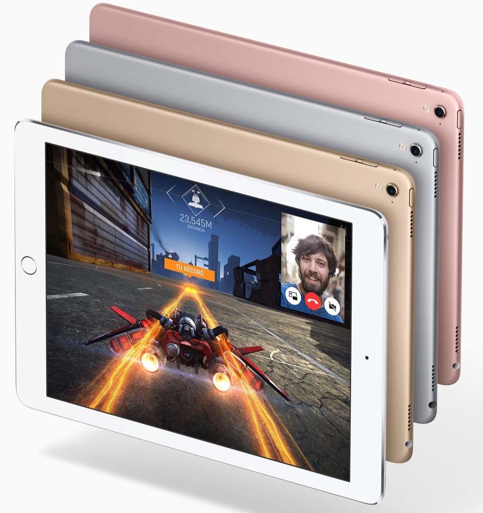 iPad 2017: iPad Pro acabados