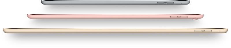 iPad 2017: iPad Lineup sides