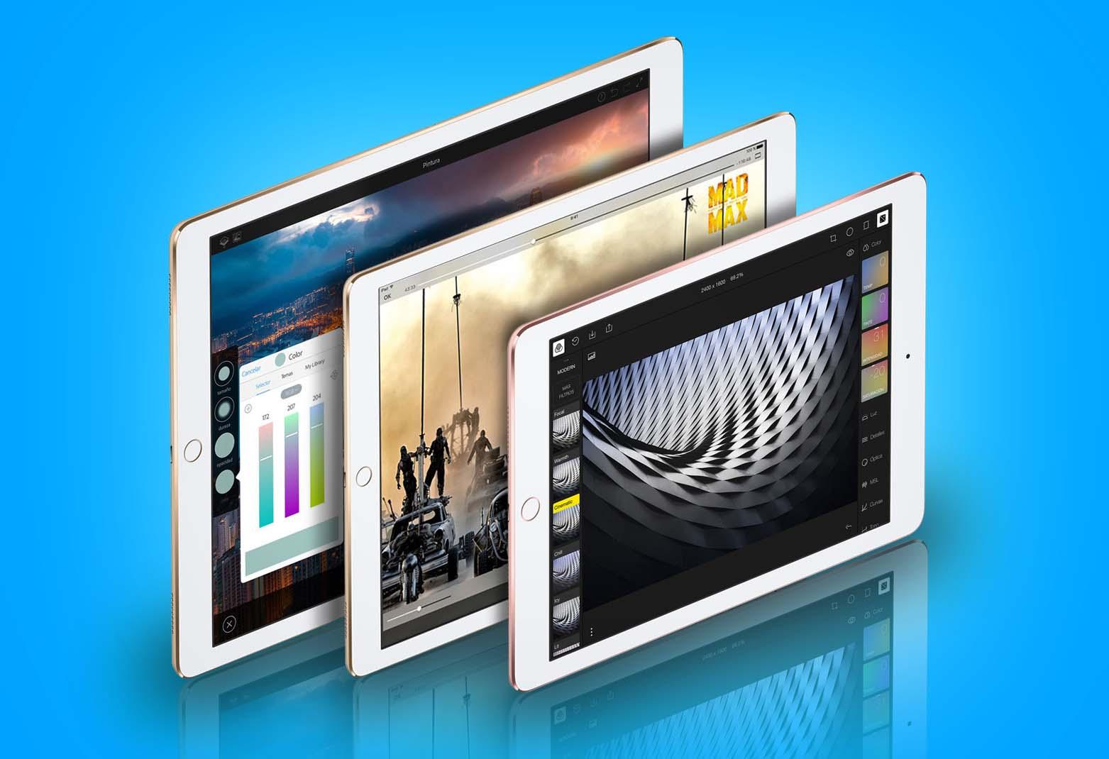 En 2017 habrá tres tamaños de iPad Pro