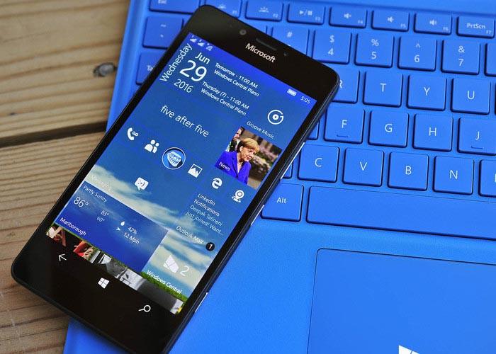 Windows 10 aniversario para moviles