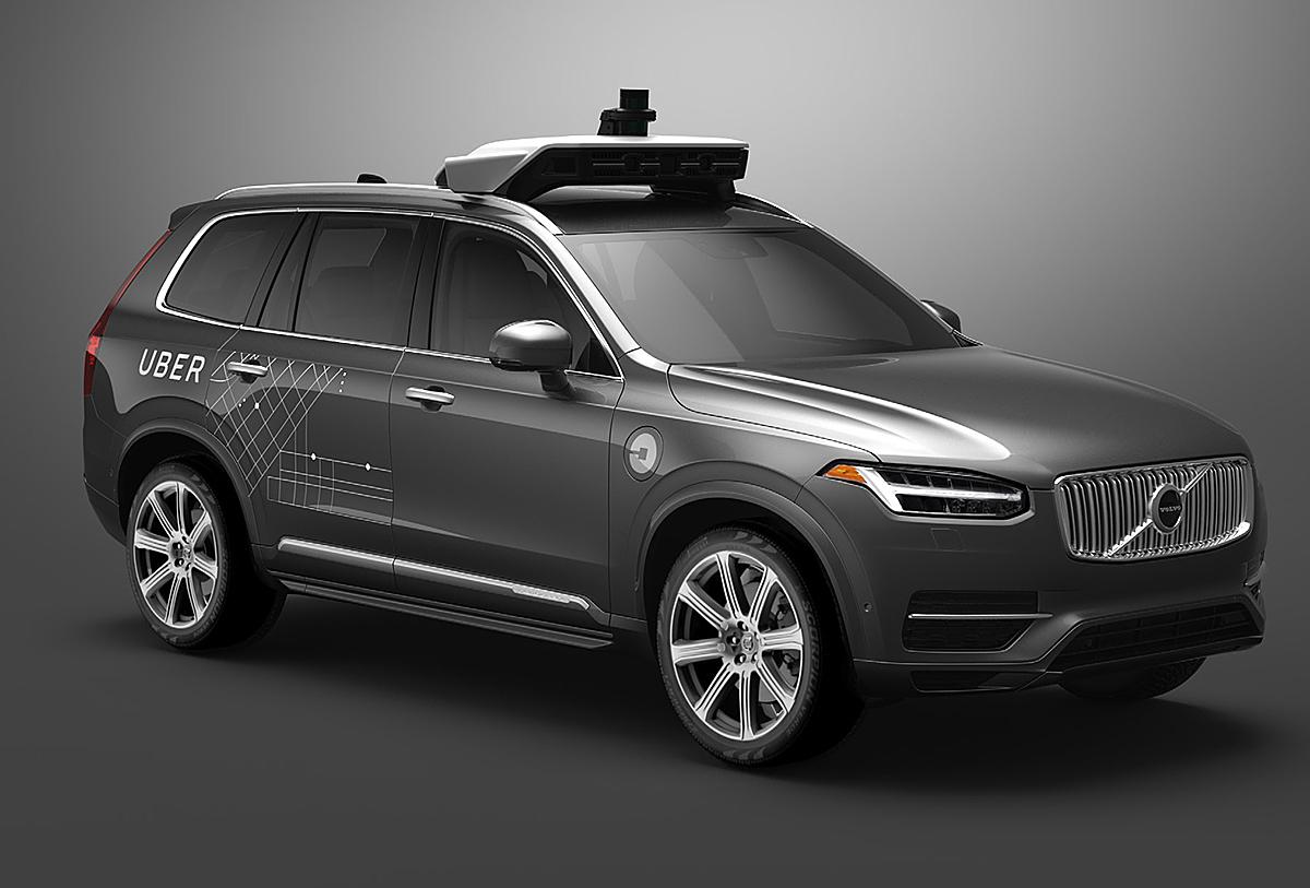 Los vehículos autónomos de Volvo y Uber