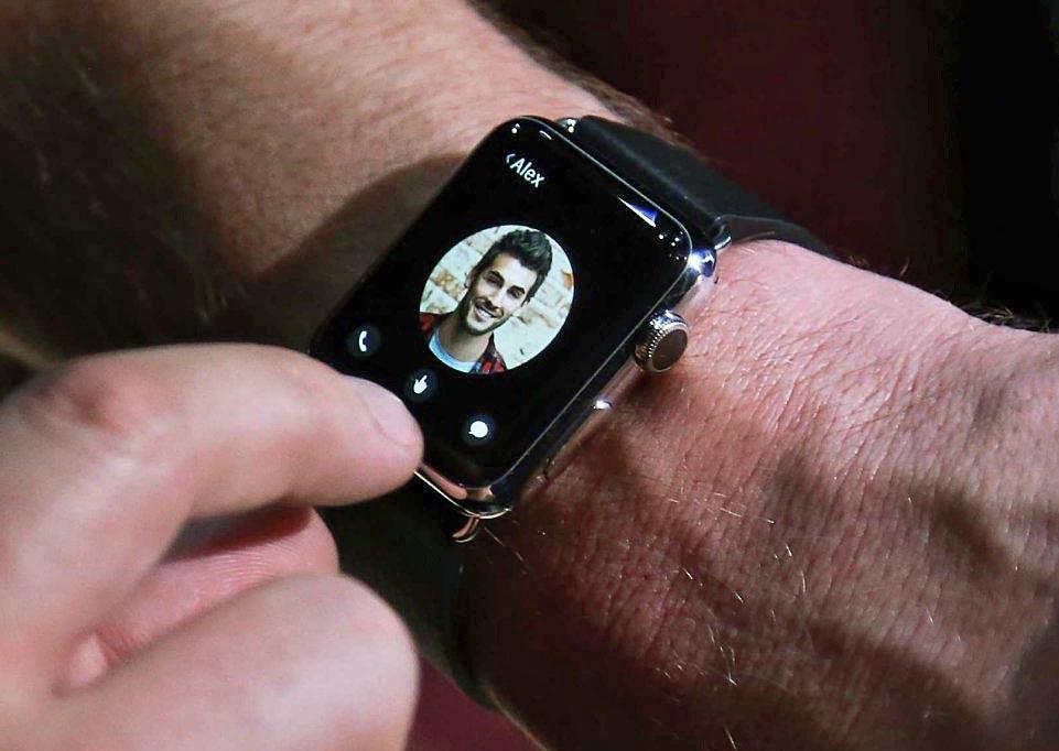 Llamando con el Apple Watch