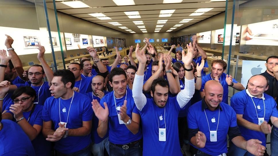 Empleados tiendas Apple
