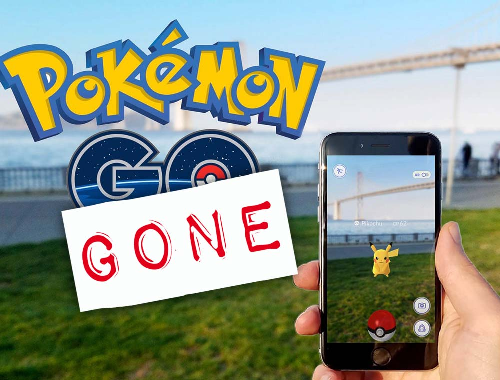 Pokemon GO ¿Pokémon Gone?