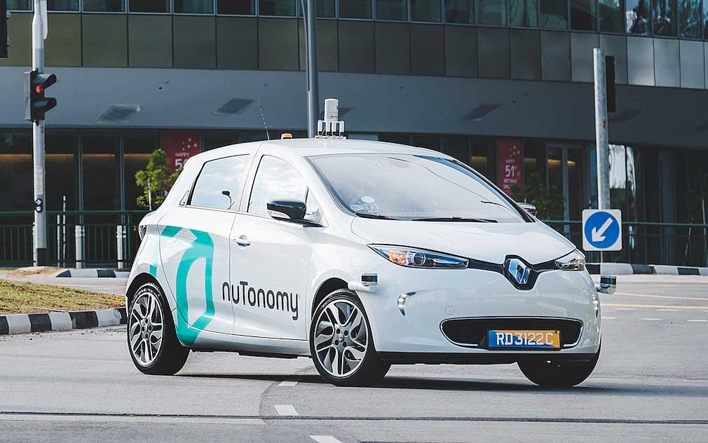 Un vehículo autoconducido de nuTonomy